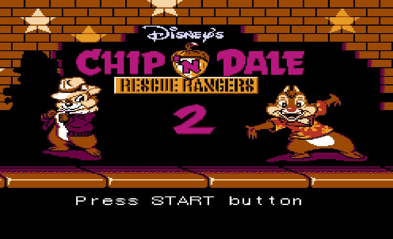 Chip 'n Dale Rescue Rangers 2, dendy, soundtrack